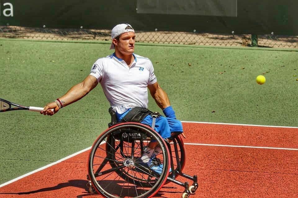 Tenis adaptado: sólido regreso de Gustavo Fernández en Estados Unidos
