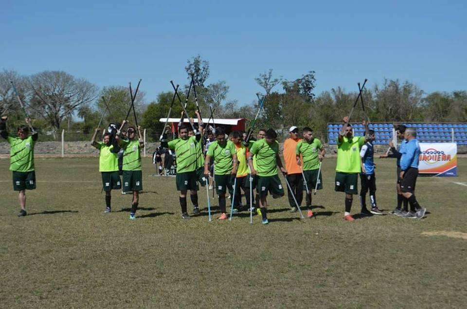 Fútbol de amputados: Chaco mira a todos desde arriba