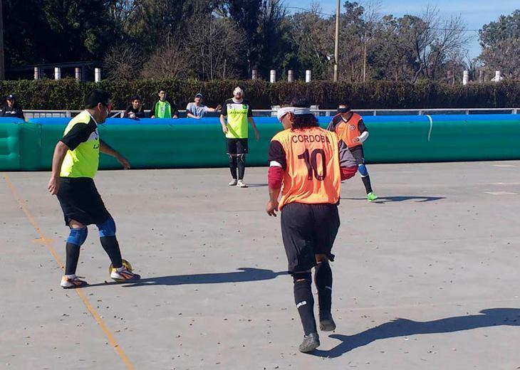 Fútbol para ciegos: Córdoba aporta dos semifinalistas
