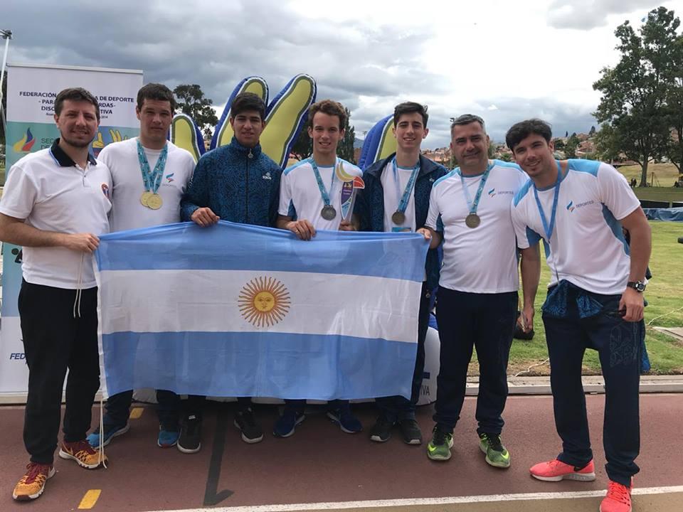 Atletismo: Argentina sumó cuatro medallas en el Open Panamericano de sordos de Ecuador