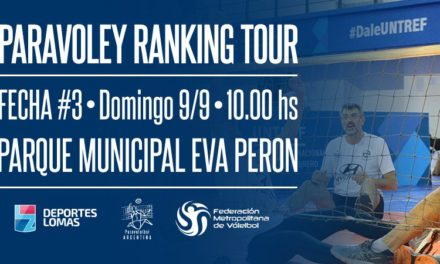 Paravóley: sigue el ranking tour