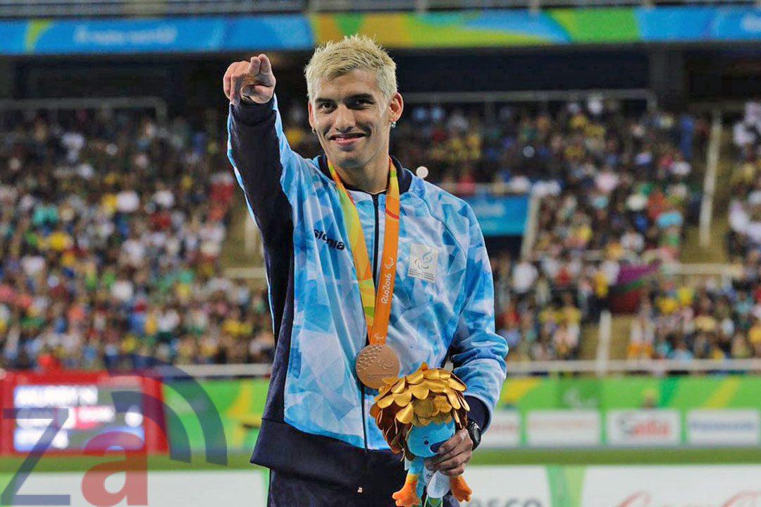 Se cumplen dos años de la medalla de bronce de Hernán Barreto en los 100 metros de Río 2016