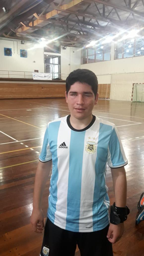 Nacho Oviedo, protagonista de una maratón para concientizar sobre la ceguera
