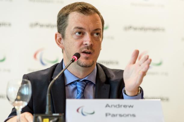 """Andrew Parsons, presidente del Comité Paralímpico Internacional, en Paradeportes Radio: """"Gustavo Fernández es un atleta completo: energía, talento y garra"""""""