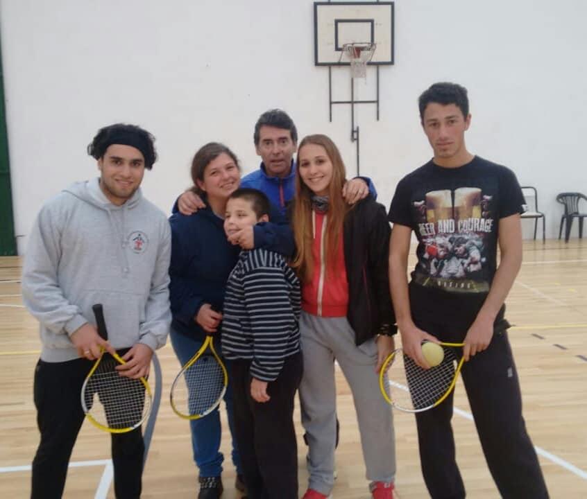 Tenis para ciegos: nueva escuela en Córdoba