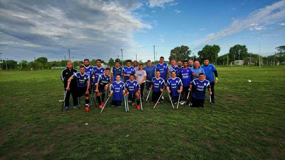 Fútbol para amputados: la Selección Argentina sale a la cancha
