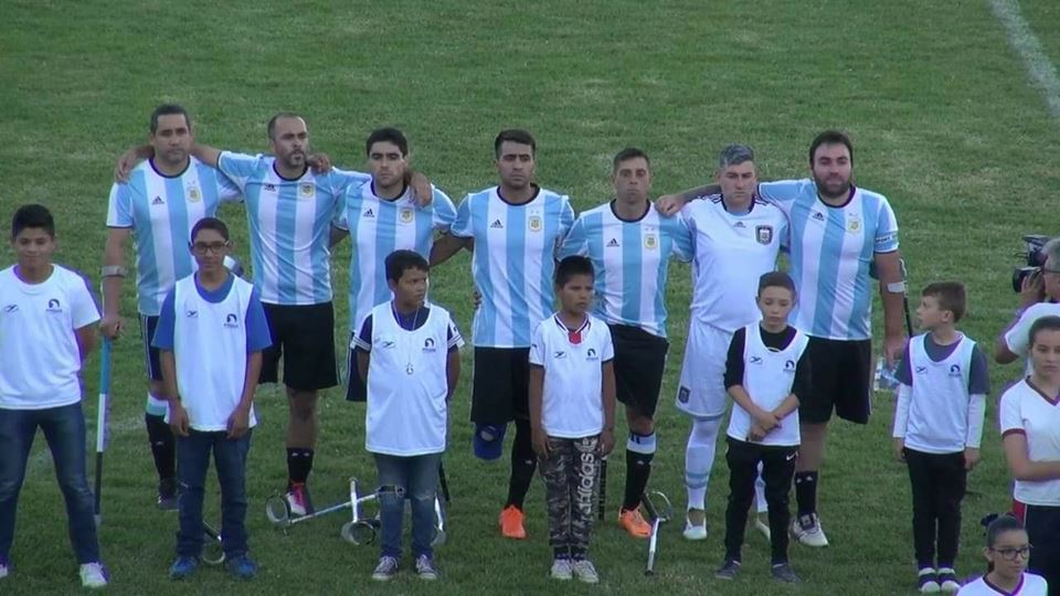 Fútbol para amputados: Argentina se enfrentará a Inglaterra en octavos de final del Mundial