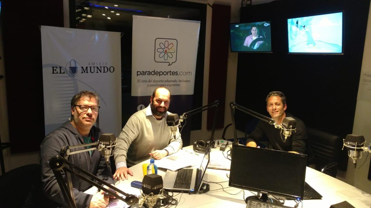 """Martín Demonte en Paradeportes Radio: """"Le doy mucho valor a ser subcampeones del mundo"""""""
