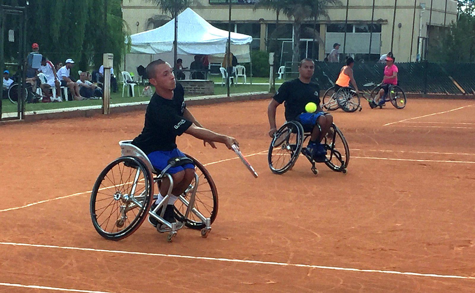 Tenis adaptado: Brasil se llevó el dobles masculino del Cañuelas Open 2018
