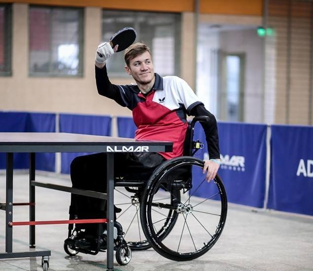Tenis de mesa adaptado: Eberhardt y Garrone, entre los ocho mejores del Mundial