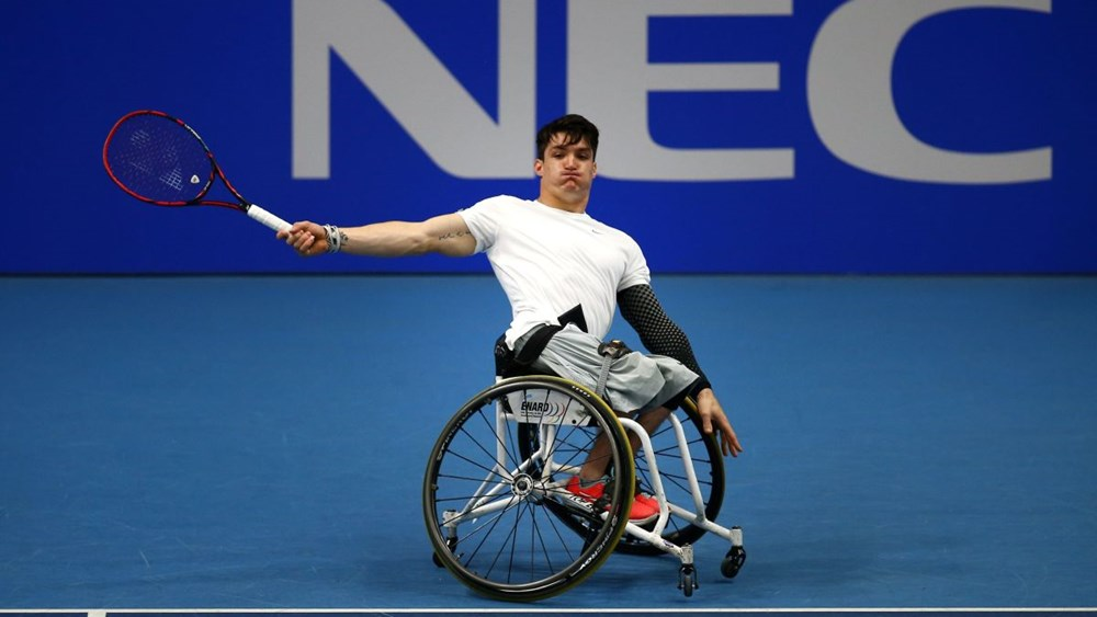 Tenis adaptado: sólido debut de Gustavo Fernández en el Masters