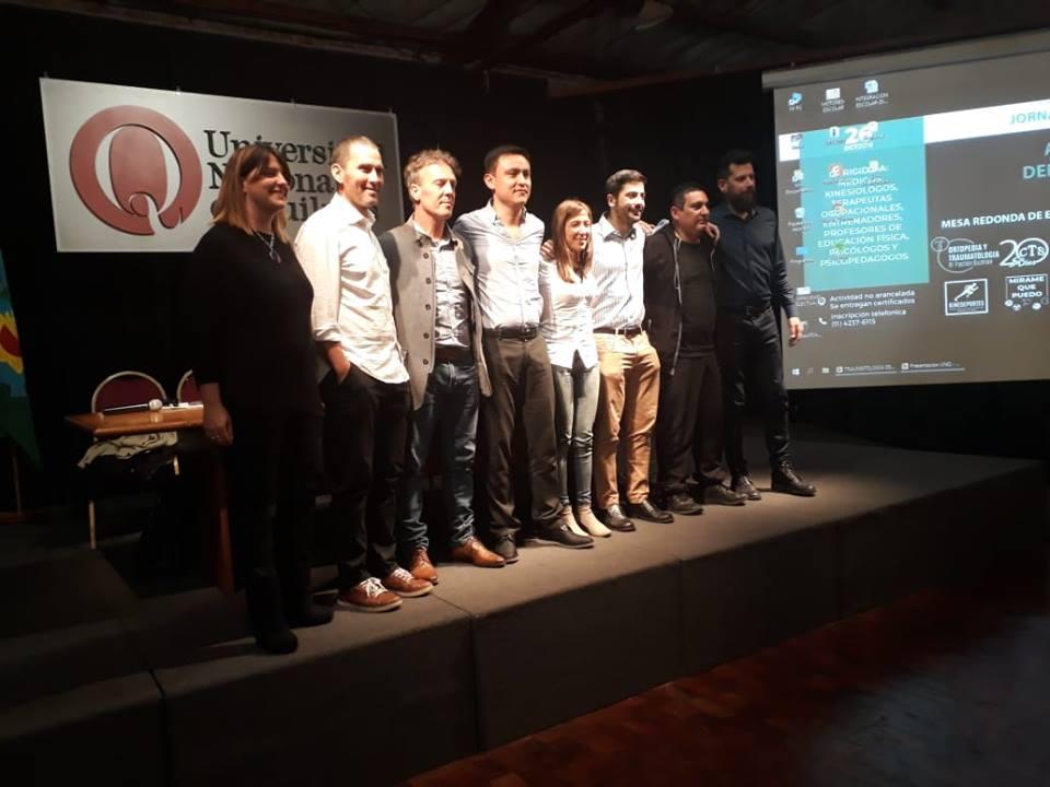Jornada de deporte adaptado en Quilmes