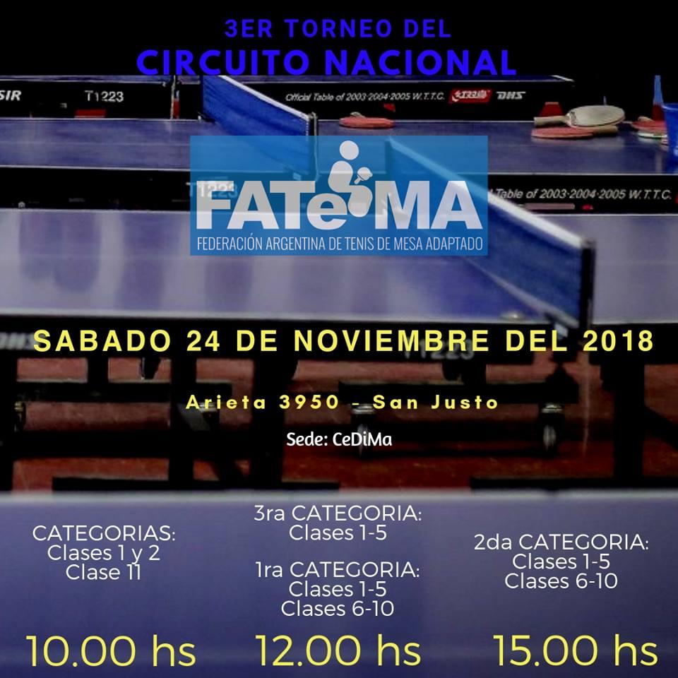 Tenis de mesa: se viene la Copa Tango en Buenos Aires