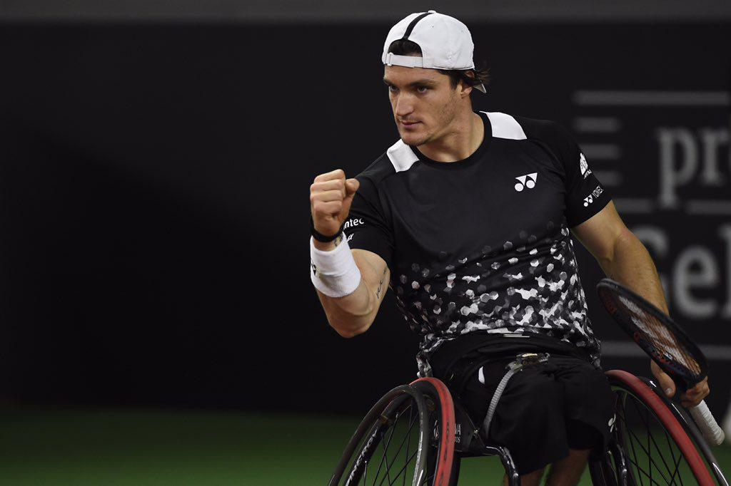 Tenis adaptado: Gustavo Fernández, semifinalista del Master de dobles