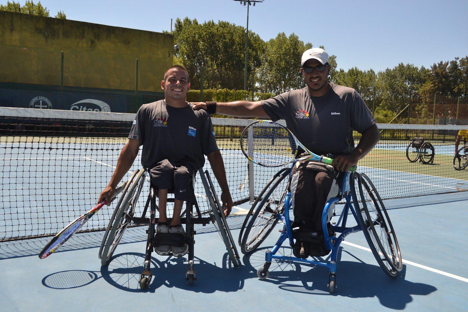 Tenis adaptado: Ledesma y Casco avanzan en San Pablo