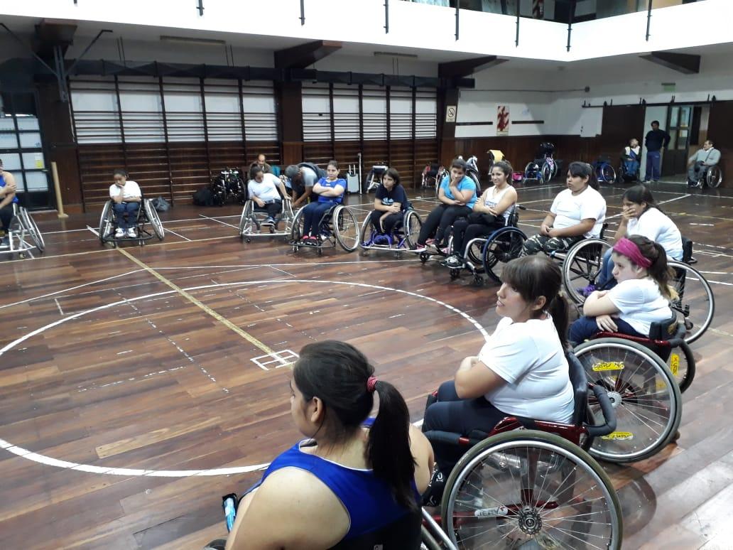Básquet femenino: la Selección Sub 21 se concentró en el CENARD