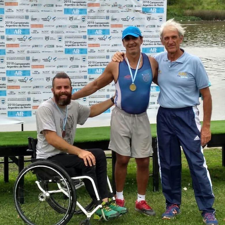 Remo paralímpico: continúa el Campeonato Argentino