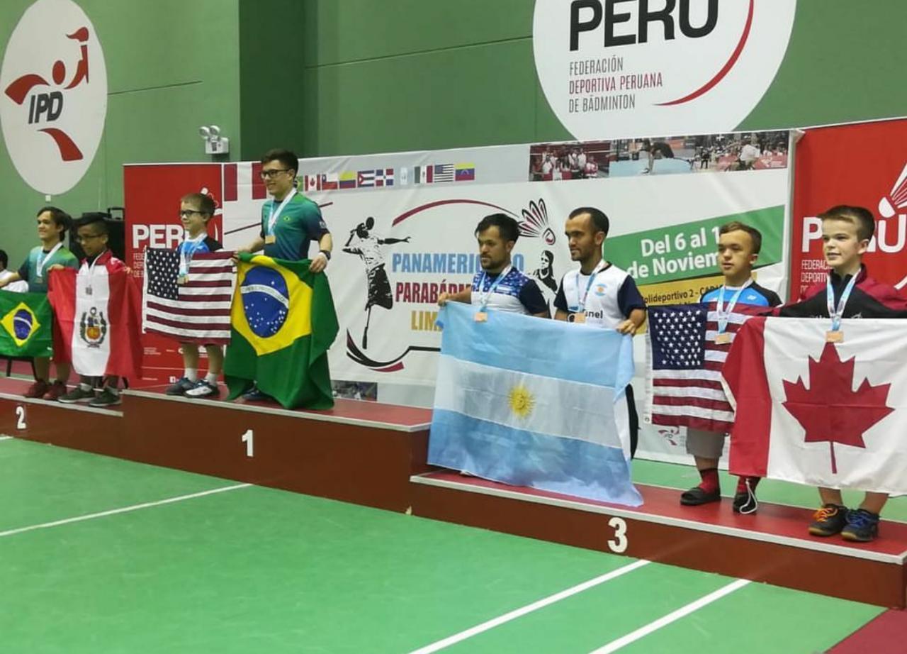 Parabadminton: Argentina, medalla de bronce en Perú