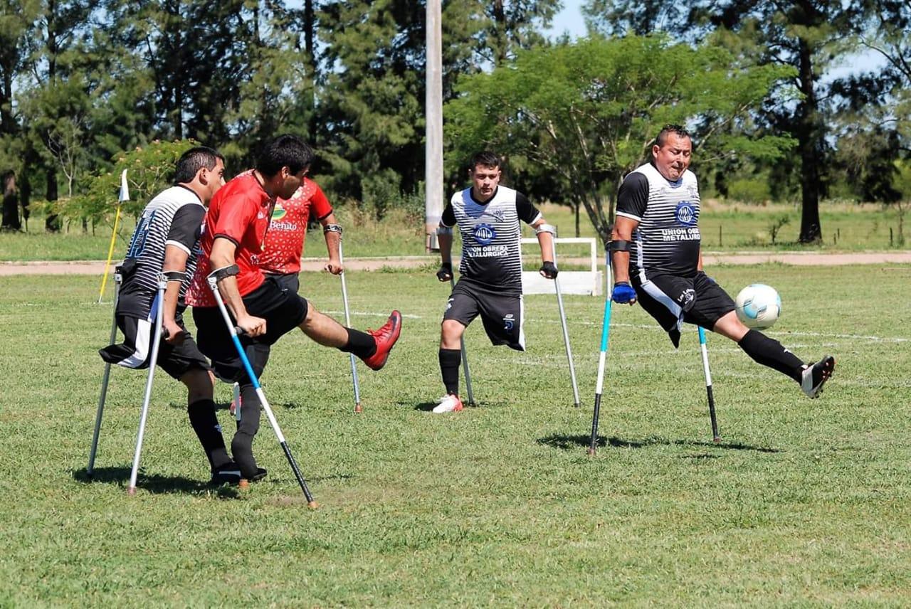 Fútbol para amputados: Los Gurises de Entre Ríos, en lo más alto