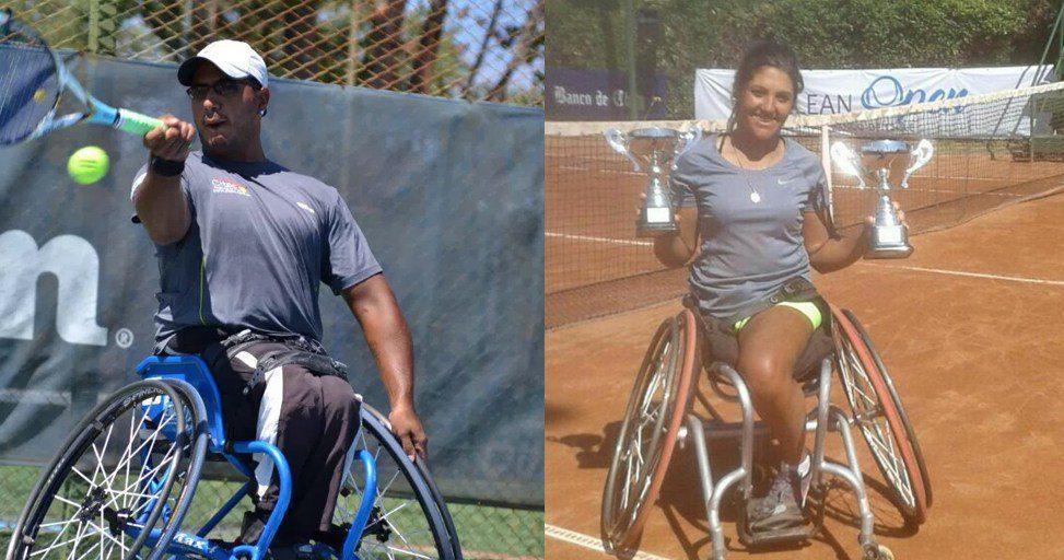 Tenis adaptado: Ledesma y Moreno, semifinalistas en Brasil