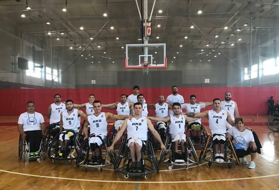 Básquet sobre silla de ruedas: Argentina y un sólido debut en el Sudamericano de Perú