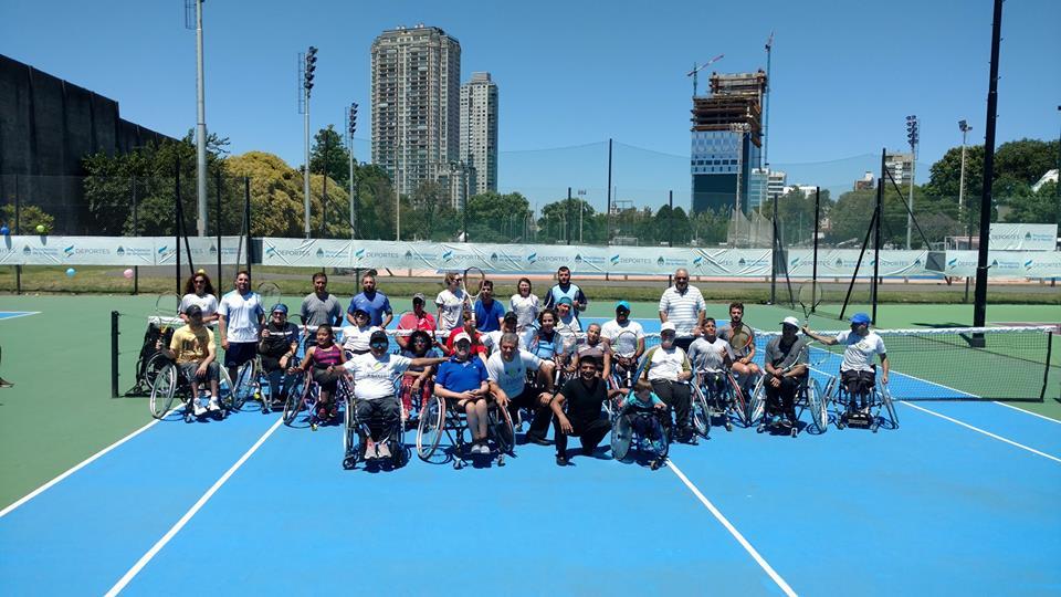 Tenis adaptado: cierre del año en el CENARD