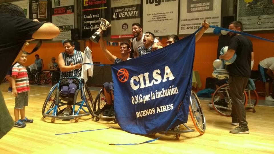 Básquet adaptado: CILSA de Buenos Aires, campeón de la Superliga
