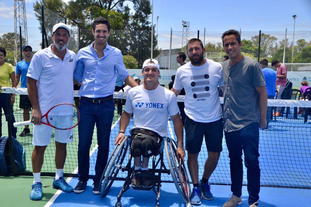 Gustavo Fernández cerró el Congreso de tenis en el CENARD