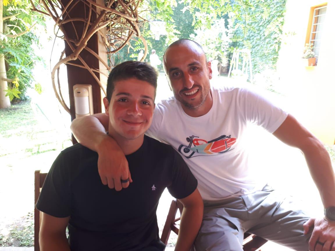 Natación: Facundo Arregui y un encuentro con Ginóbili
