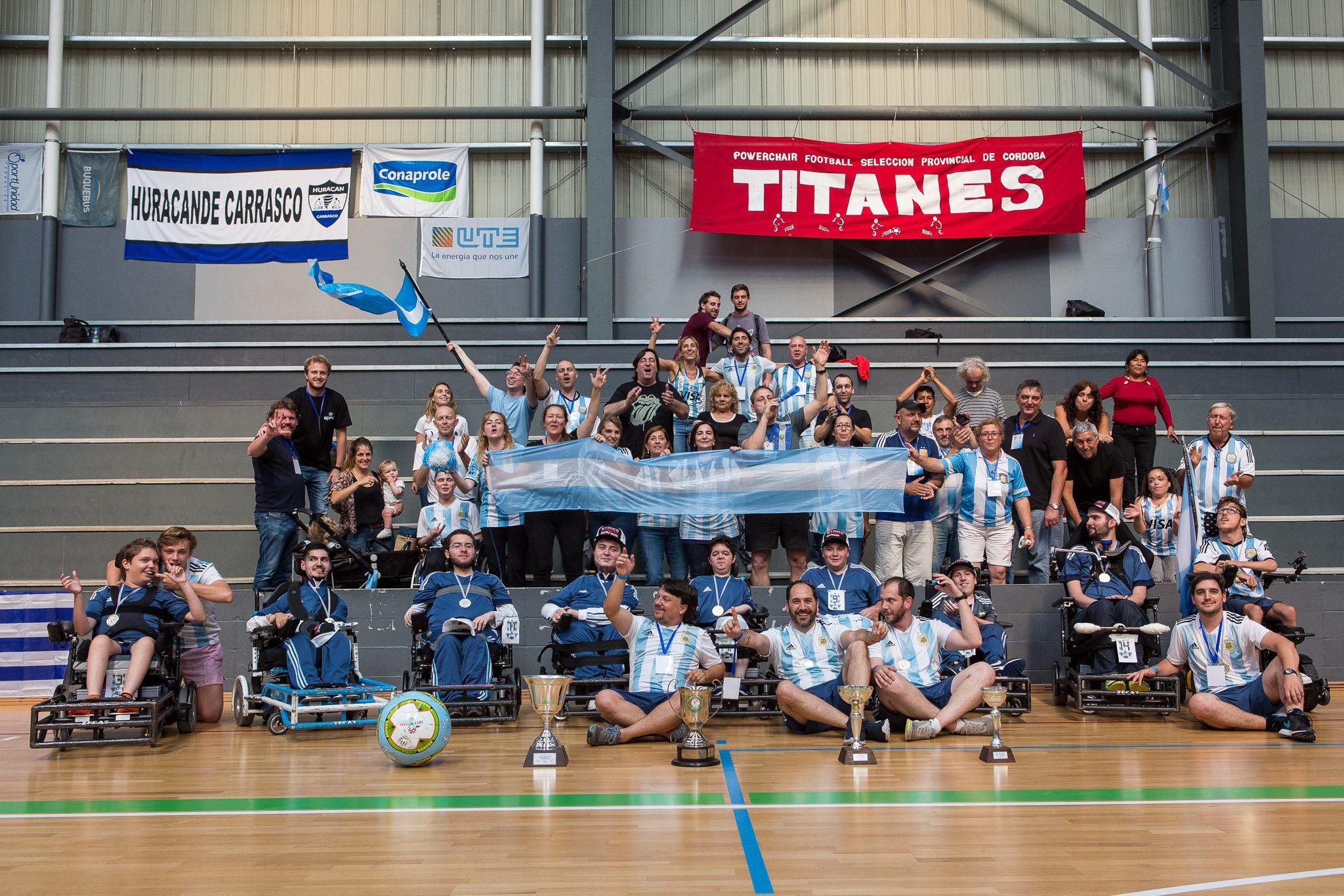Powerchair football: ¡Argentina, campeón de la Copa Sudamericana!