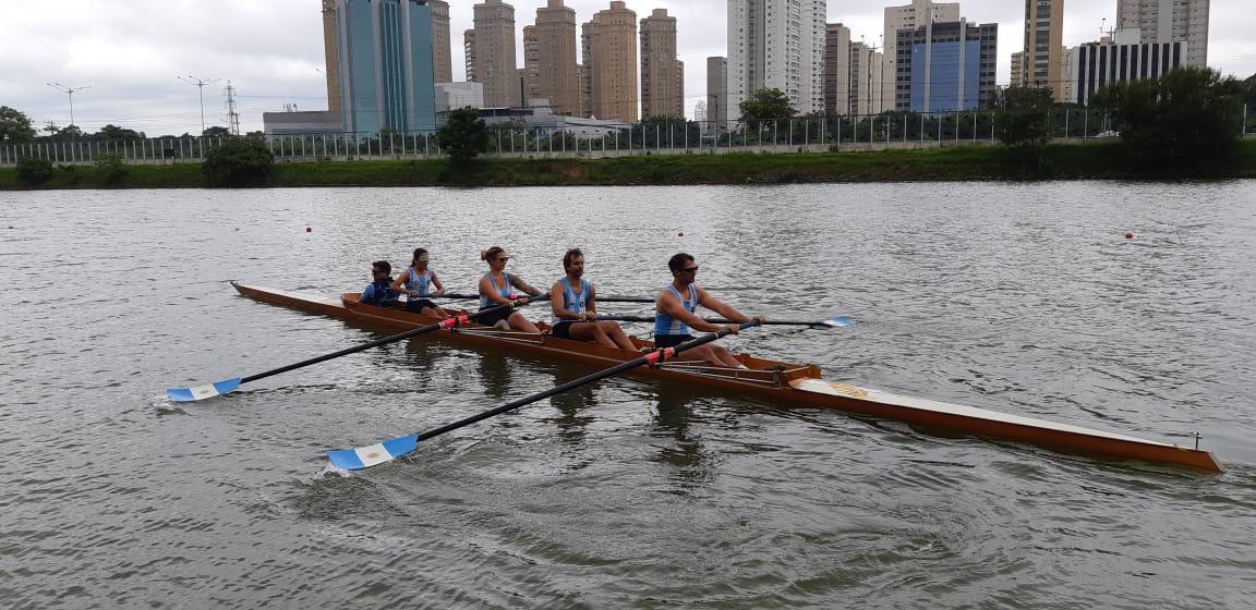 Remo paralímpico: cinco argentinos en Brasil