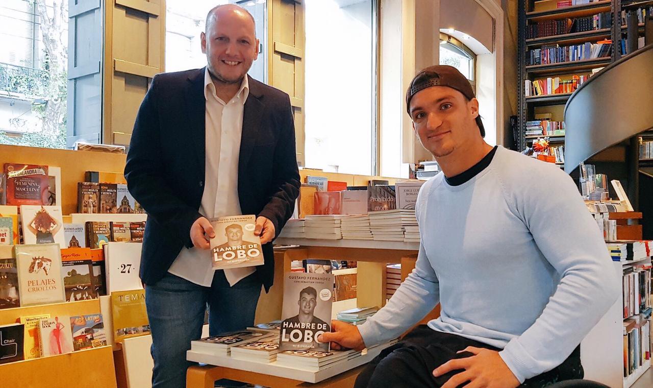 Tenis adaptado: Gustavo Fernández presentó su autobiografía