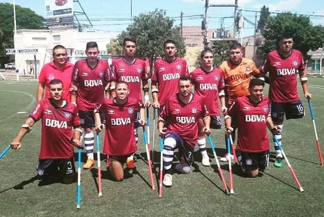 Fútbol para amputados: Córdoba, único puntero de la Liga Nacional