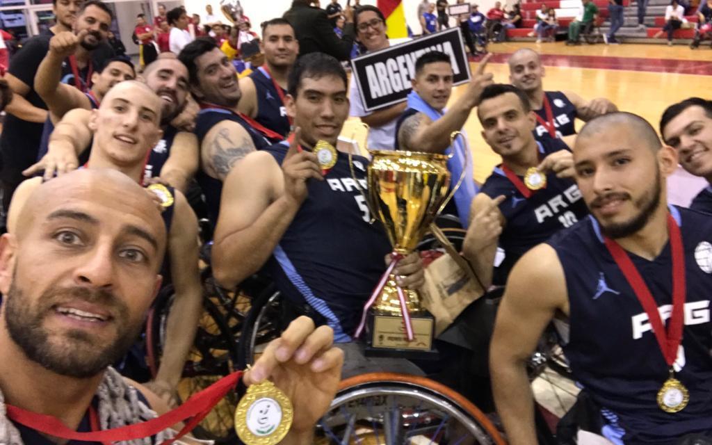 La Selección Argentina de básquet adaptado, candidata a mejor del mes en América