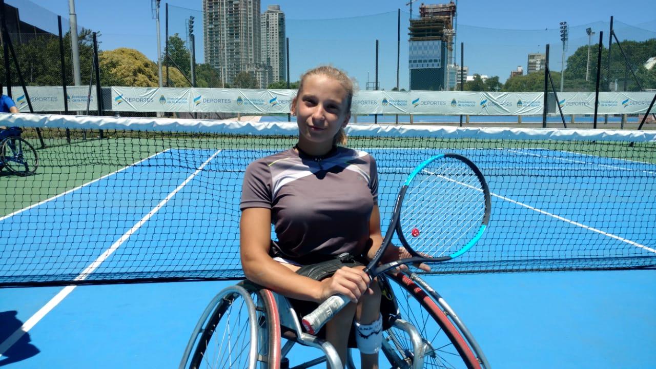 """Tenis adaptado   Nicole Dhers: """"El Master Junior es mi gran objetivo para cerrar esta etapa"""""""