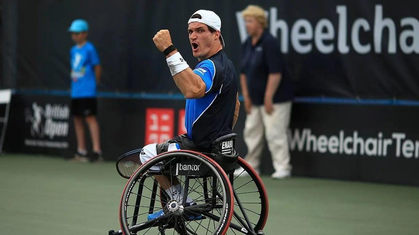 Tenis adaptado: Gustavo Fernández arrancó el 2019 y se prepara para el Abierto de Australia