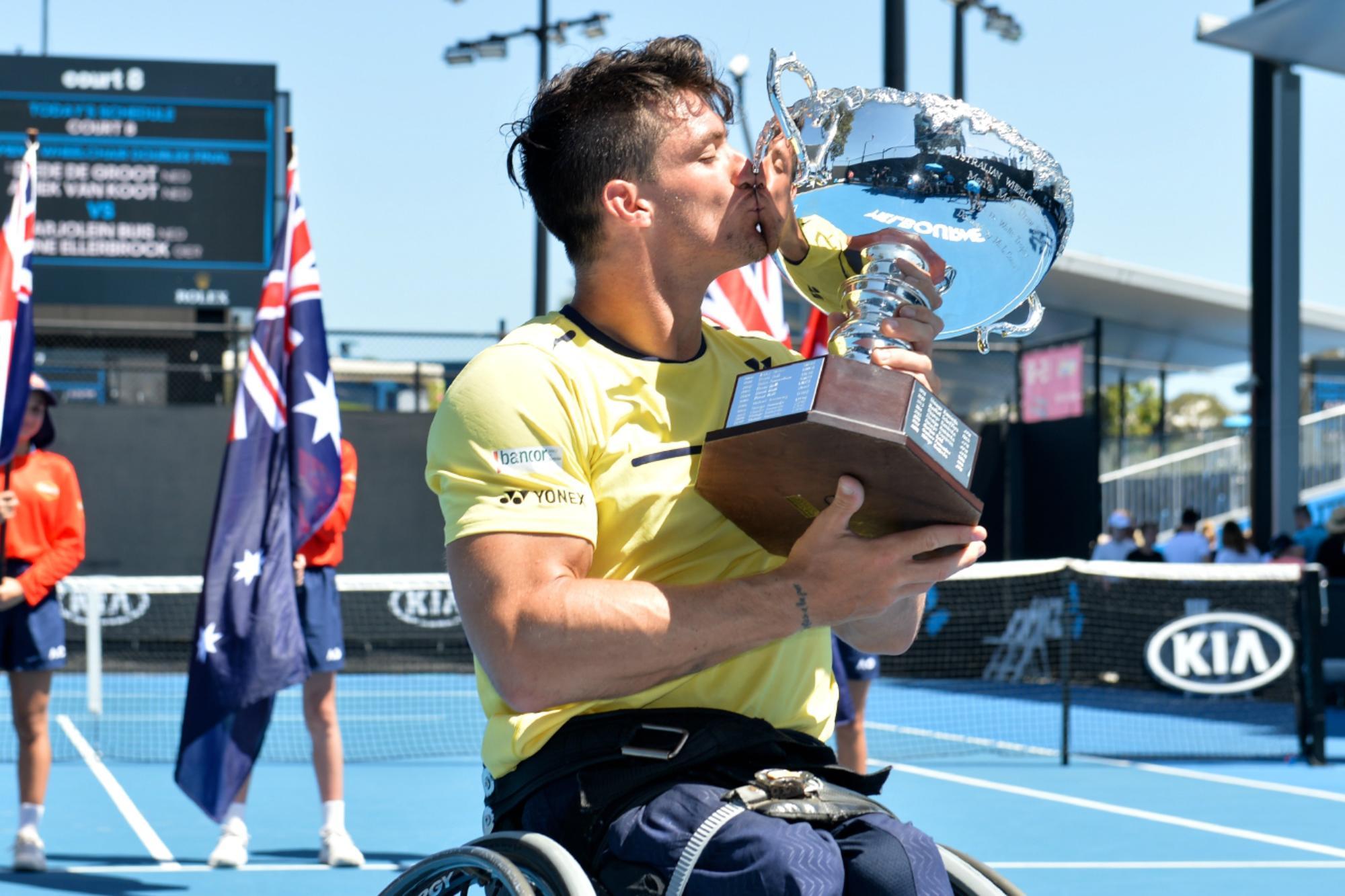 Gustavo Fernández, candidato a mejor atleta paralímpico del mundo en enero