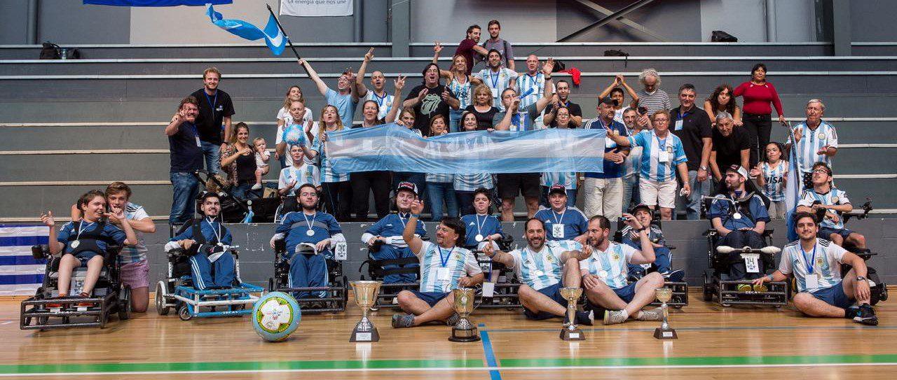 Powerchair football: la selección se prepara para la Copa América