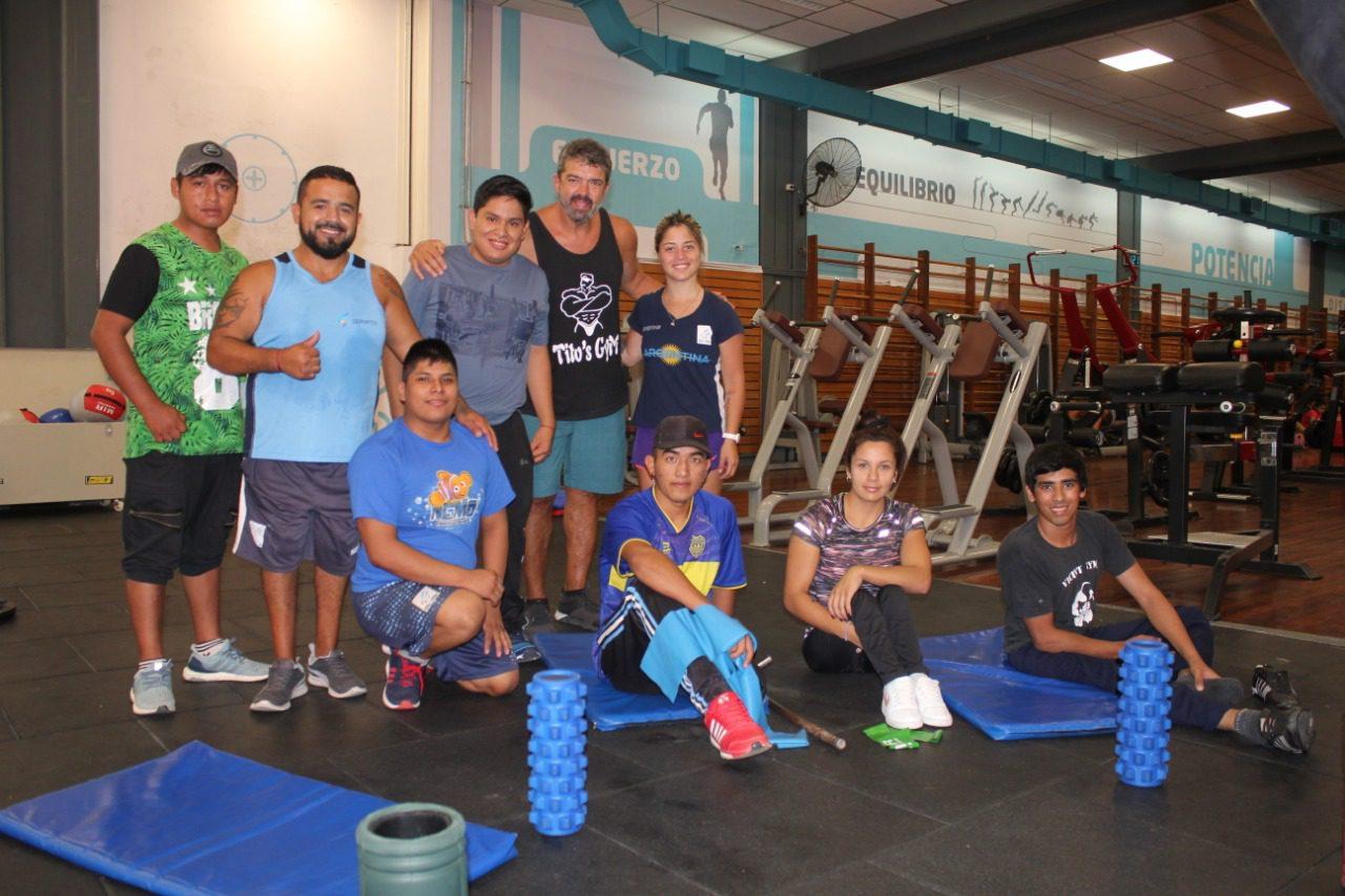 Levantamiento de pesas: primer encuentro del año