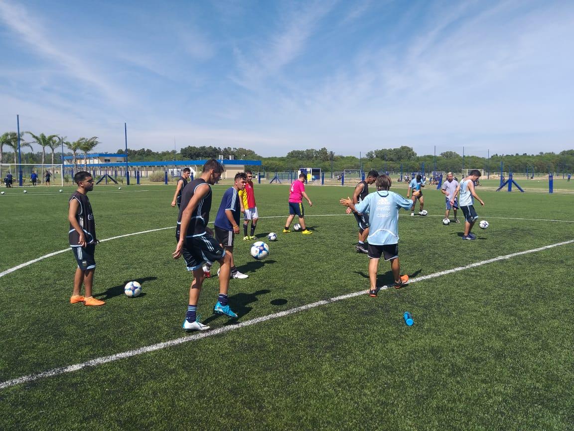 Fútbol 7: la Selección Argentina se concentró en Ezeiza y ya piensa en el Mundial