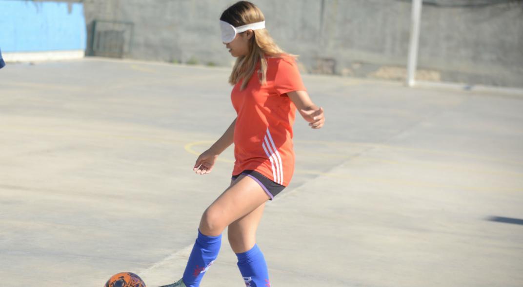 Fútbol para ciegos: una argentina viaja a Japón