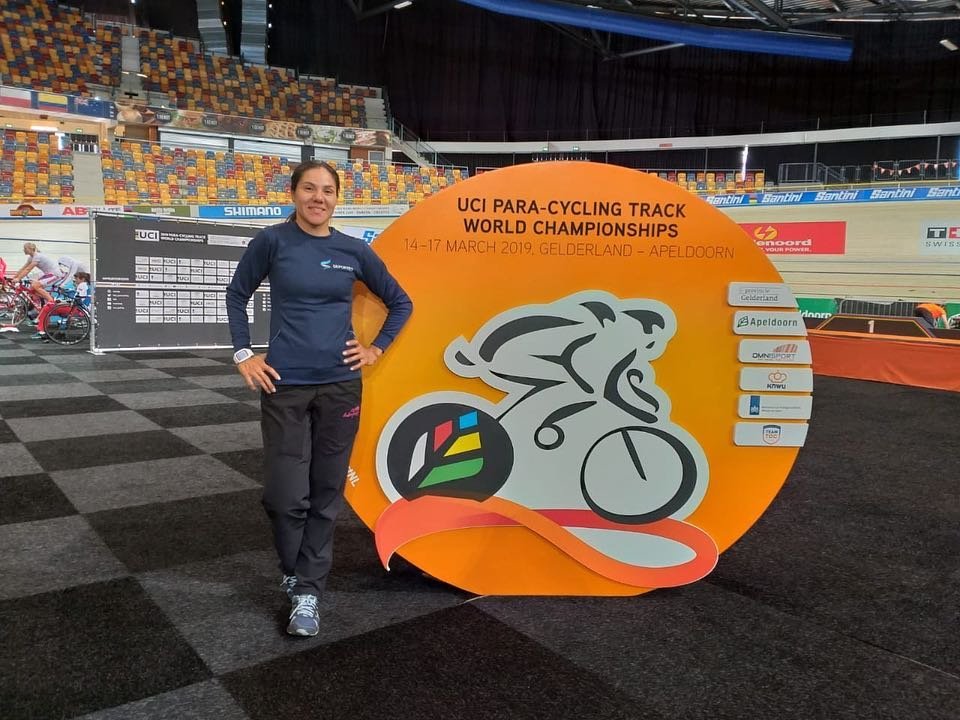 Paraciclismo: Argentina, presente en el Mundial de Pista de Holanda