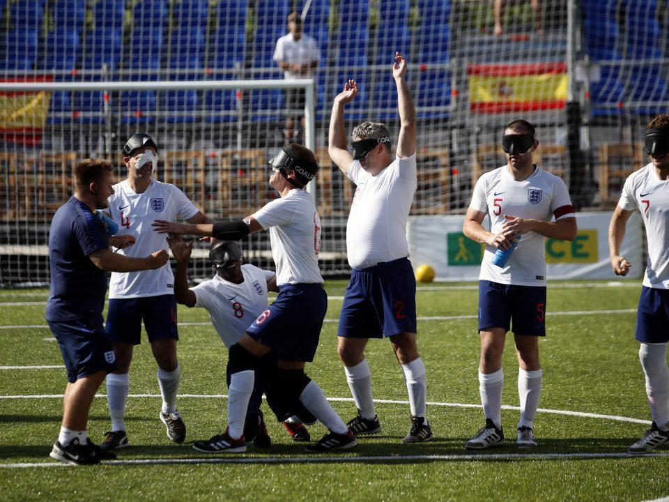 Fútbol para ciegos: Inglaterra jugará la Copa Tango en Buenos Aires