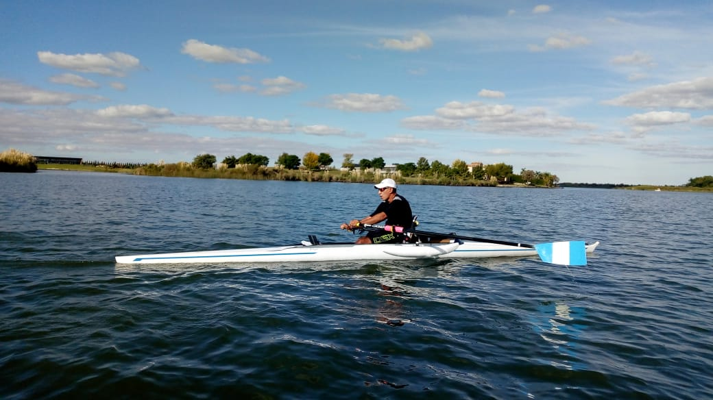 Remo paralímpico: la selección, lista para el viaje a Italia