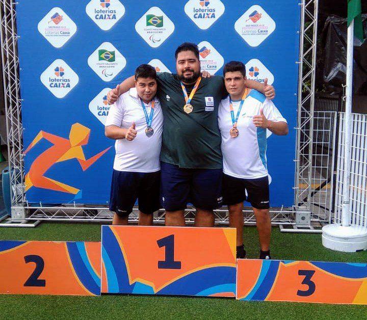 Festejos argentinos en el atletismo de Brasil
