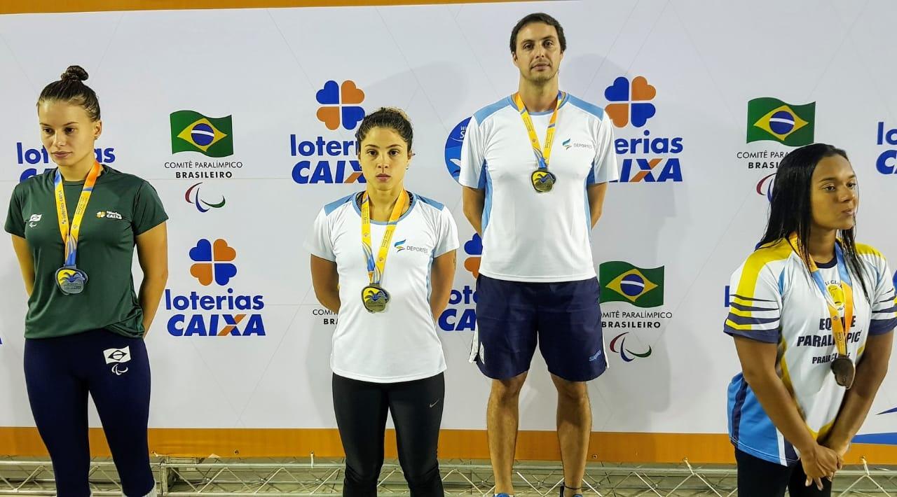 Daniela Giménez tuvo un comienzo dorado en el Caixa