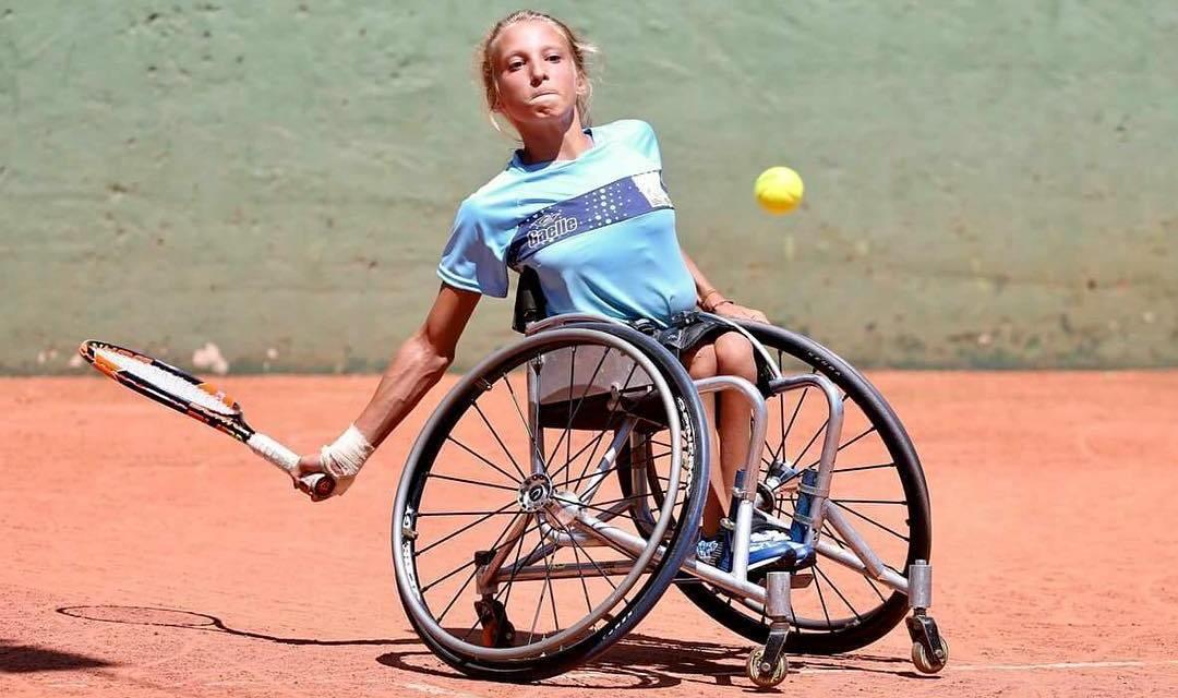 Tenis adaptado: Nicole Dhers, finalista en Francia