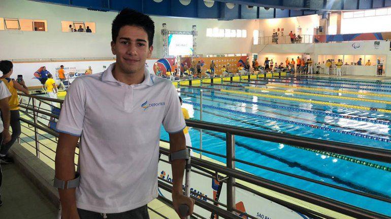 """Iñaki Basiloff en Paradeportes Radio: """"Quiero llegar de la mejor manera a Lima 2019"""""""