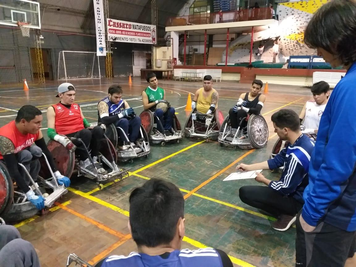 Quad rugby: la selección se concentró en Córdoba