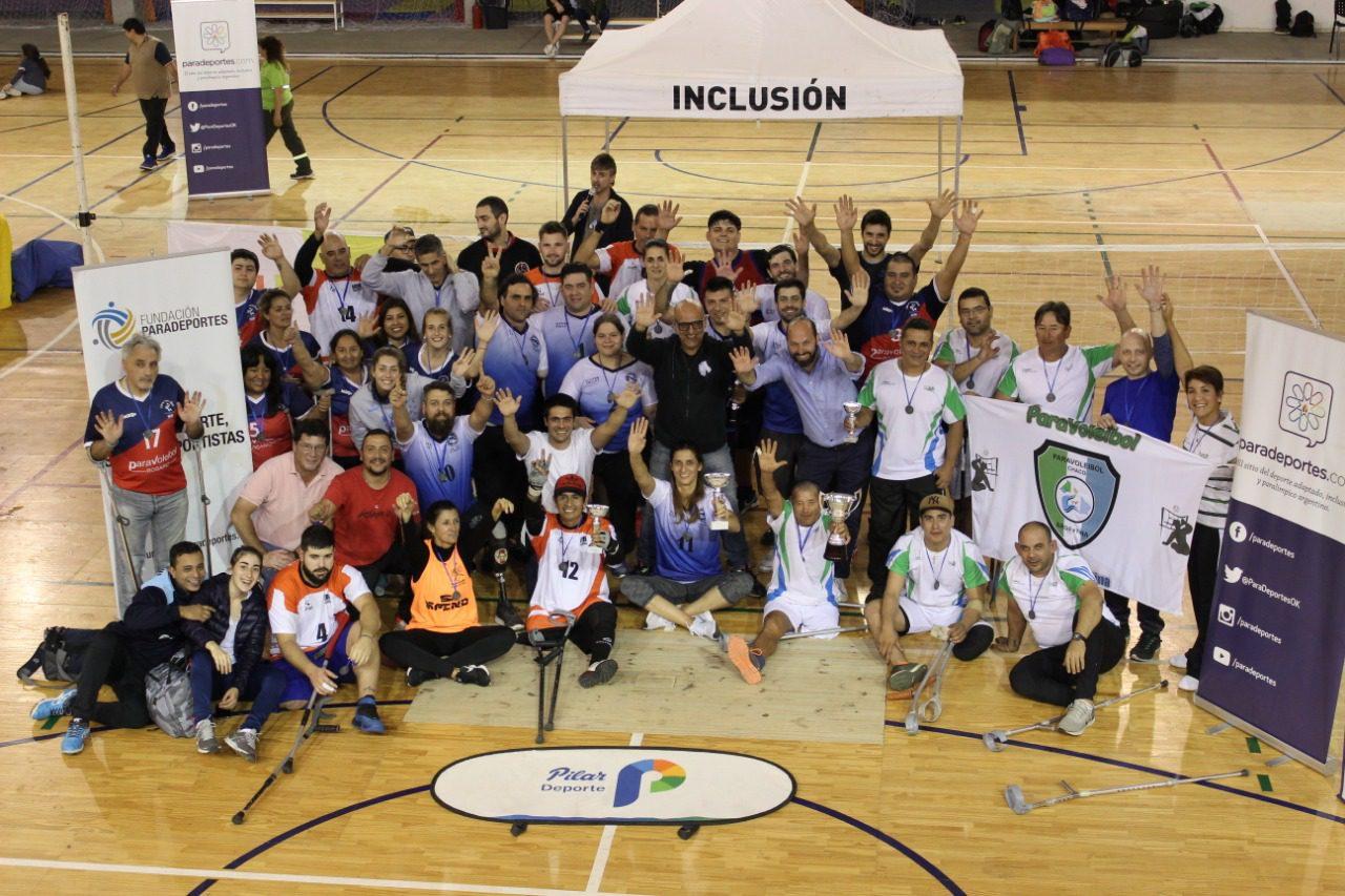 """Metropolitana, campeón de la """"Copa Fundación Paradeportes – Inclusión Pilar"""" de paravoley"""